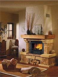 Chimeneas insertables de le a banico spain calor for Chimeneas insertables